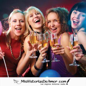 la noche loca entre mujeres